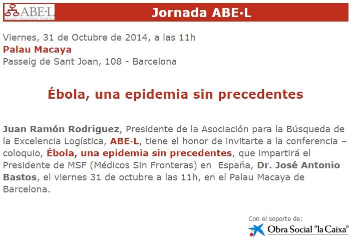 Ebola una epidemia sin precedentes